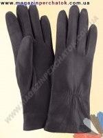 Модель № 141 Перчатки женские из натуральной кожи на шерстяной подкладке. Кожа производства Италии.